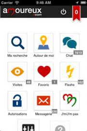 Amoureux mobile