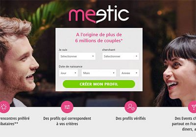 Logo Meetic.fr